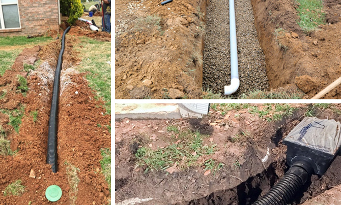 Дренирование почвы перед постройкой колодца