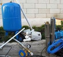 Подготовка к установке бак и системы водоснабжения